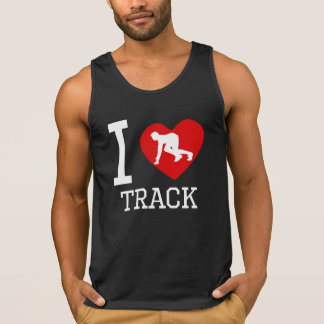 I Heart Track Tanktops