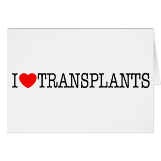 I heart Transplants Card