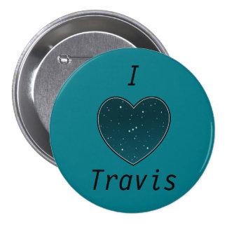 I Heart Travis Button