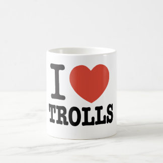 I Heart Trolls Coffee Mug