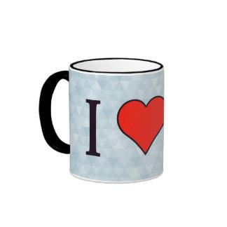 I Heart Trousers Ringer Mug