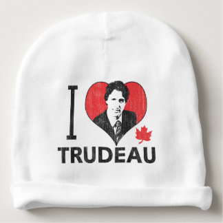 I Heart Trudeau Baby Beanie