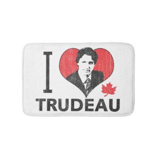 I Heart Trudeau Bath Mat