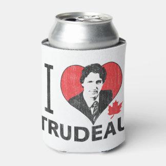 I Heart Trudeau Can Cooler