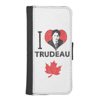 I Heart Trudeau iPhone SE/5/5s Wallet