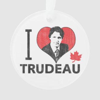 I Heart Trudeau Ornament