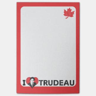 I Heart Trudeau Post-it Notes
