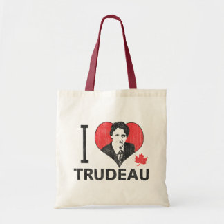 I Heart Trudeau Tote Bag