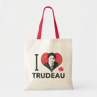 I Heart Trudeau Tote Bag