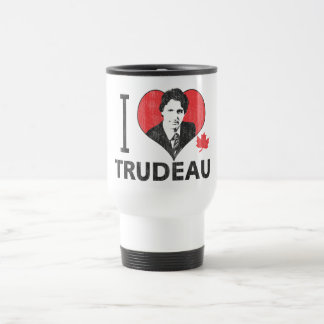 I Heart Trudeau Travel Mug