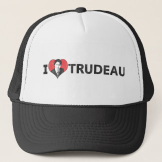 I Heart Trudeau Trucker Hat