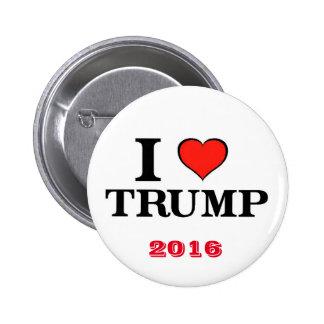 I Heart Trump Button