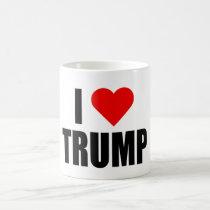 """I HEART TRUMP"" COFFEE MUG"
