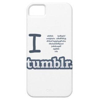 I Heart Tumblr iPhone SE/5/5s Case