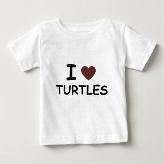 I HEART TURTLES BABY T-Shirt