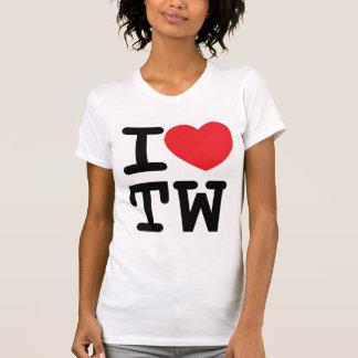 I heart TW design T Shirt