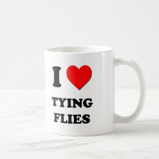 I Heart Tying Flies Coffee Mug