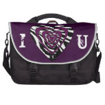 I Heart U commuter bag