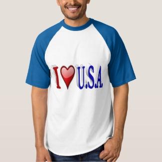 I Heart U.S.A. 3D Shirt