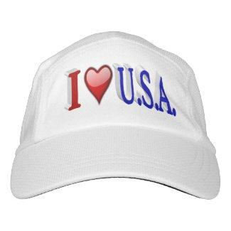 I Heart U.S.A. 3DPerformance Hat