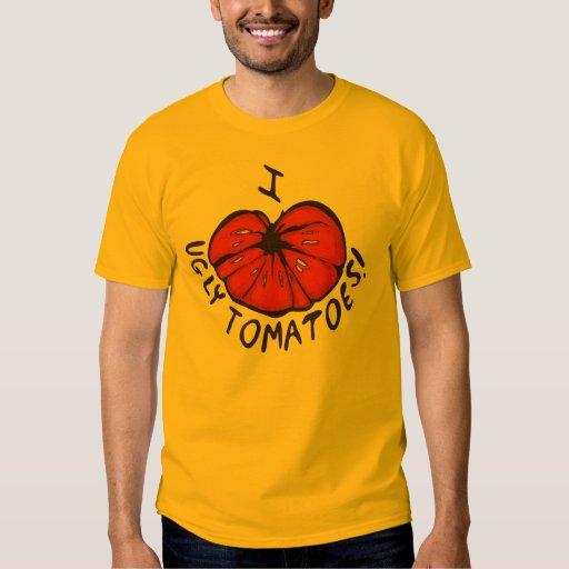 I Heart Ugly Tomatoes! Tee Shirt