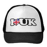 I Heart UK Trucker Hat