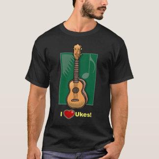 I (Heart) Ukes T-Shirt