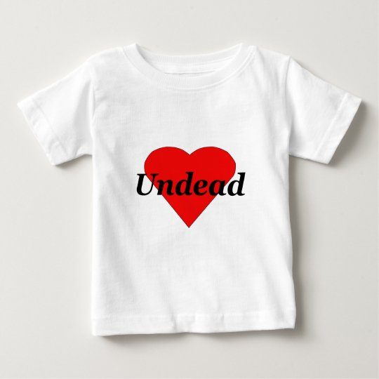 I Heart Undead Baby T-Shirt