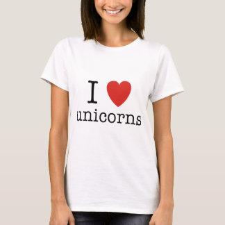 I Heart Unicorns T-Shirt