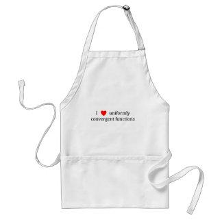 I heart uniformly convergent functions aprons