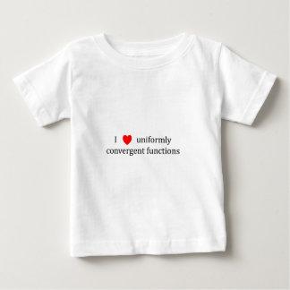 I heart uniformly convergent functions baby T-Shirt