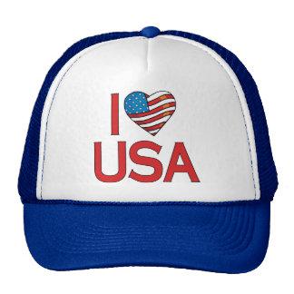 I Heart USA Trucker Hat