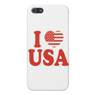I Heart USA iPhone 5 Cover