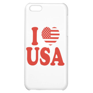 I Heart USA Case For iPhone 5C
