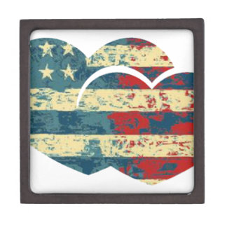I Heart USA Jewelry Box