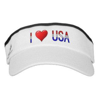 I Heart USA Headsweats Visors