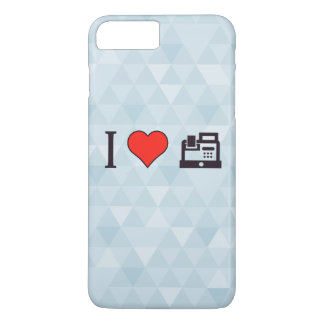 I Heart Using Cash Register iPhone 7 Plus Case