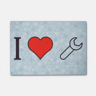 I Heart Using Spanner Post-it® Notes