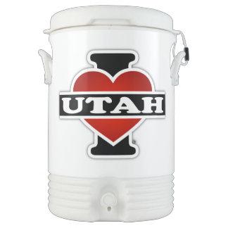 I Heart Utah Cooler