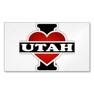 I Heart Utah Magnetic Business Card