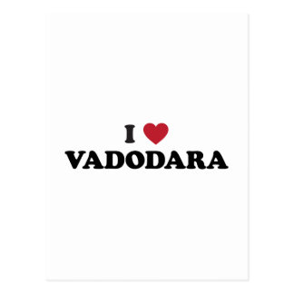 I Heart Vadodara India Postcard