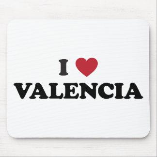 I Heart Valencia Mouse Pad