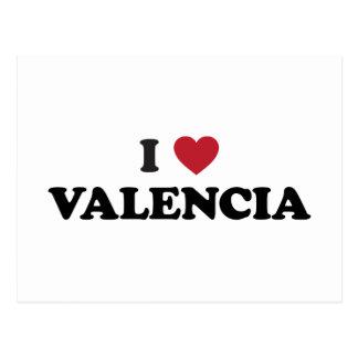 I Heart Valencia Postcard