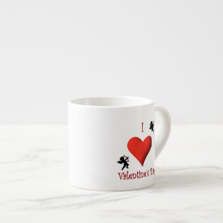 I Heart Valentine's Day Jumbo Mug