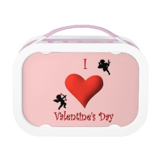 I Heart Valentines Day Lunchbox