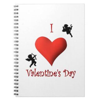 I Heart Valentine's Day Notebook