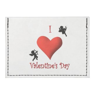 I Heart Valentines Day Tyvek® Card Case Wallet