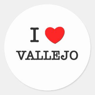 I Heart VALLEJO Stickers