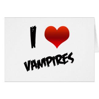 I Heart Vampire Card