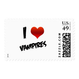 I Heart Vampire Postage Stamp